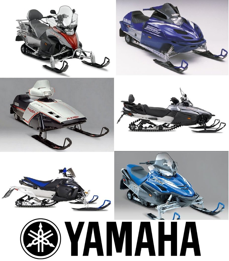 Thumbnail Yamaha VK540 II / III Snowmobile Service  Repair Maintenance Overhaul Workshop Manual